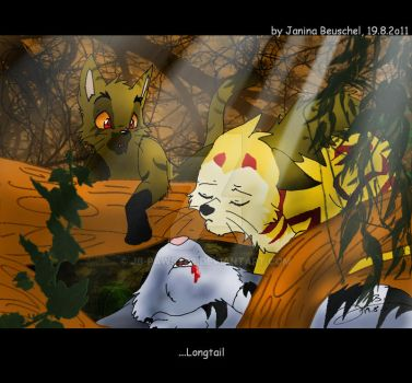 Longtails Death by JB-Pawstep