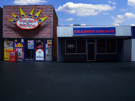 Shadie's Arcade Building by MisterBill82