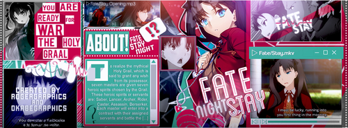 Collab - Fate/Stay Night by RogerGraphics
