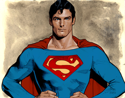 Christopher Reeve Superman by hirix