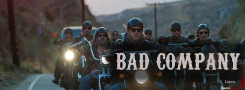 Sons Of Anarchy - Facebook cover: 'Bad Company' by LukenCrowheart