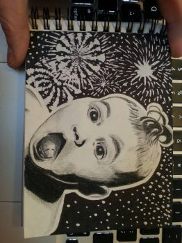 Scrapish Sketch Book 2: Bonfire Night Baby by smokerette