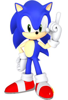 Nendoroid Sonic Render by JaysonJean