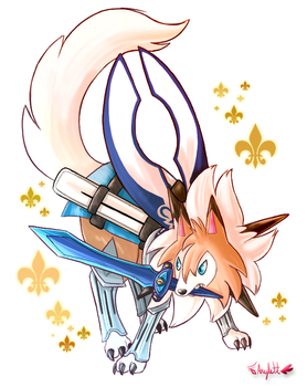 Wolf Blade by Arylett-Charnoa
