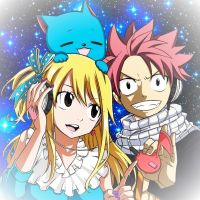 A Never Ending FairyTail_NaLu and Happy by StarfireGrace1998