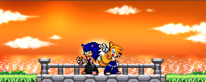 .:Sonic and Tails:. Bros Forever by GhosttheHedgehog12