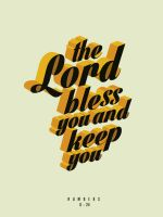 Numbers 6:24 - Poster by mostpato