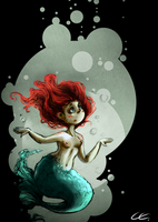 the little mermaid by Zita52
