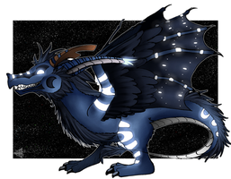 My OC Dragon by KrisSsApple