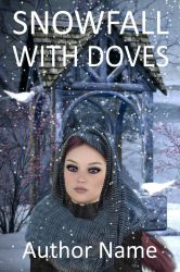 Snow fall with doves by OlgaGodim