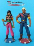 The Pirates of Dark Water - Ren and Tula Figure by zelu1984