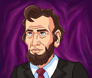 Abraham-lincoln-caricature by IanMaiguaPictures
