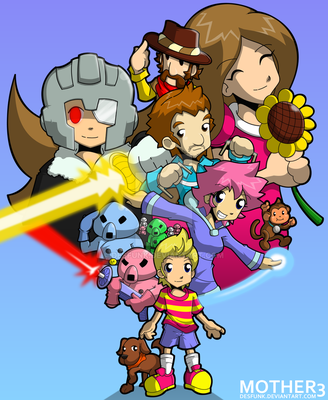 Mother 3 Complete by desfunk