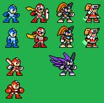 MM Character RE-Sprites by Availation