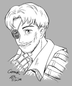ConneR (sketch) by Kikansha
