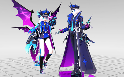 [MMD-Elsword] Catastrophe DOWNLOAD! by Darknessmagician