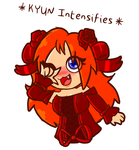 *KYUN Intensifies* by MikalaMouse