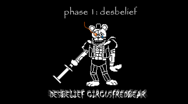 Desbelief Circusfred by shadowNightmare13