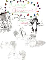 Merry Christmas 2012 From Penguinanthrogirl99! by Penguinanthrogirl99