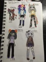 evolution on my personas/self inserts?  by sliverfactory
