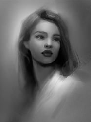 Portrait Study by GabrielleBrickey