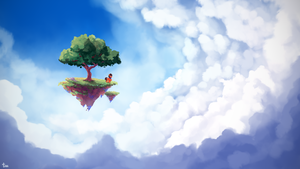 Floating Tree by TheFloatingTree