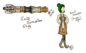 Sonic Screwdriver by PonellaToon