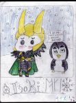 Chibi Loki by piratequeenneverland