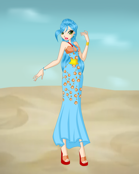 Gift 2: Weala Eygpt Outfit by ShiningStella