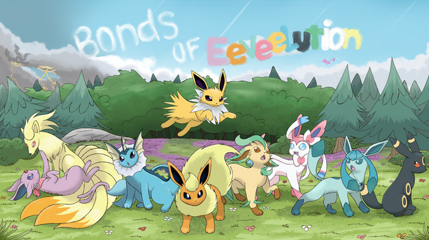 Bonds of Eeveelution - Cover by MorningSunEspeon