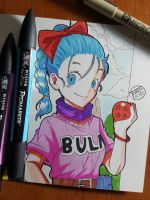 Day 321 Bulma by TomatoStyles