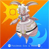 012 Magearna - Sun and Moon Project