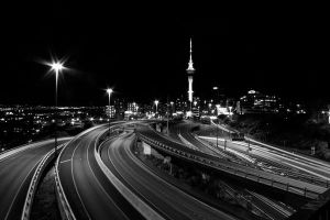 Auckland City, Black and White by mitchellcassidy