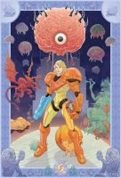 Metroid Tribute by McQuade