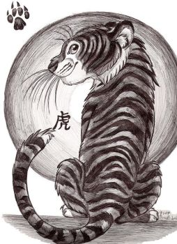 Year of the Tiger-Zodiac by Smithy9
