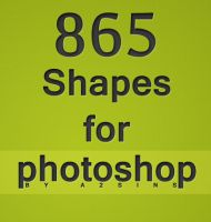 Shapes for photoshop by GadART
