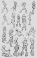 savage girl thumbnails by Detkef