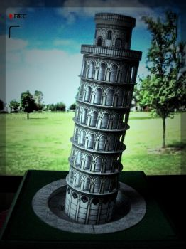 The Leaning Tower of Pisa, Italy by AnnaSulikowska