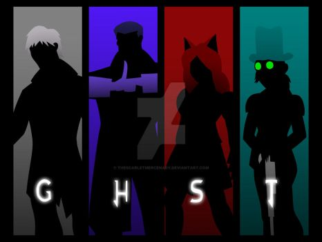Team GHST (COMPLETE) by TheScarletMercenary