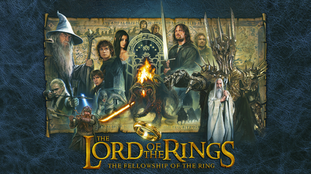 The Fellowship of the Ring by Jerry Vanderstelt by Spirit--Of-Adventure