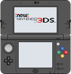 New Nintendo 3DS [black] by BLUEamnesiac
