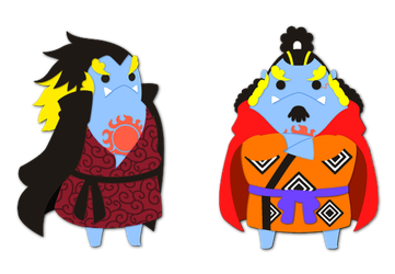 ONE PIECE: JINBE san by inano2009