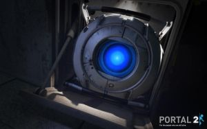 Portal 2 - Wheatley by dj-corny