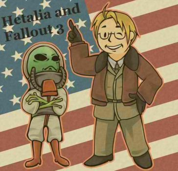 Fallout and Hetalia mixed by Shuka-the-Echigoya