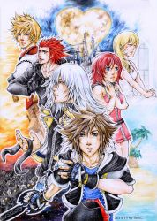 Kingdom Hearts by cross-works