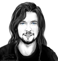 Jack with long hair by RunStrayWolf