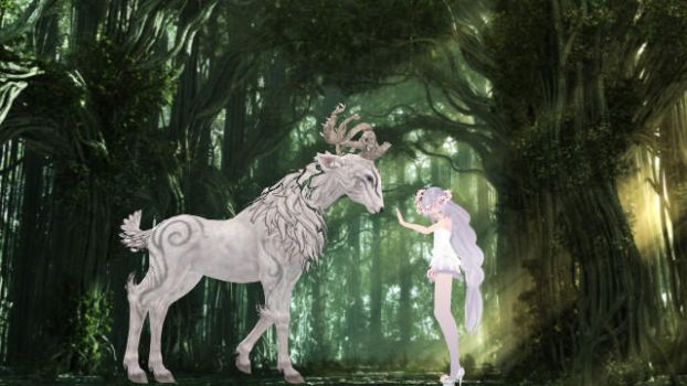 Magical Forest Encounter by DragonGirl1217