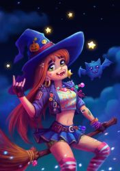 Halloween witch by Meilous