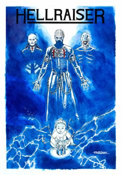 HELLRAISER COVER by DENSHO-OTAKU