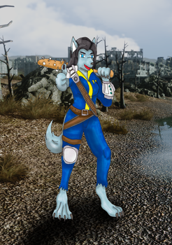 Fallout: Werewolf on the Wasteland by Kathalia